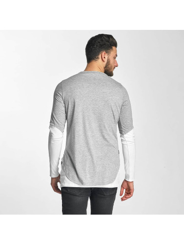 Red Bridge Herren Longsleeve Poljamy in grau