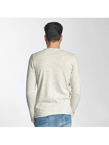 Red Bridge Herren Pullover Double in beige