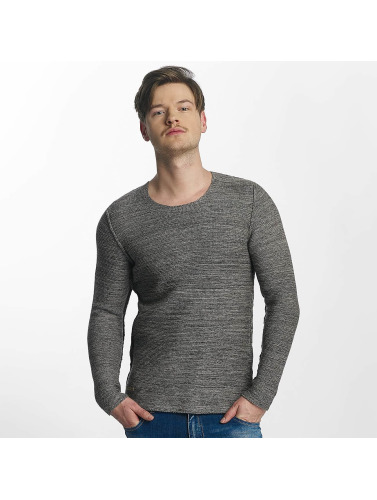 Red Bridge Herren Pullover Knit in grau