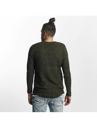 Red Bridge Herren Pullover Simon in khaki