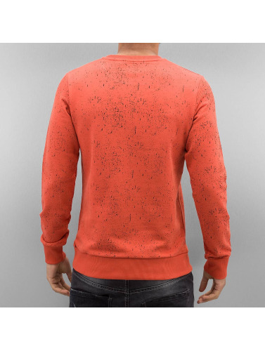 Red Bridge Herren Pullover San Francisco in orange