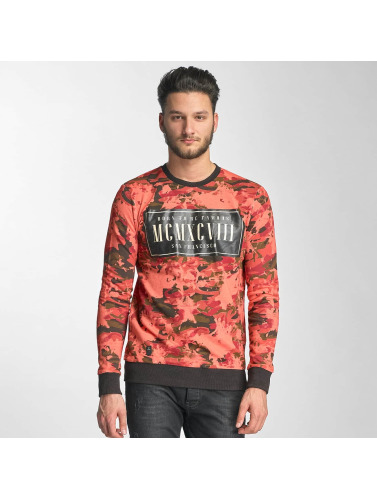 Red Bridge Herren Pullover Born To Be Famous in rot
