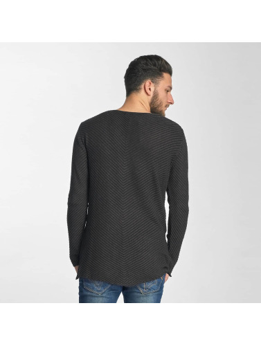Red Bridge Herren Pullover Peking in schwarz