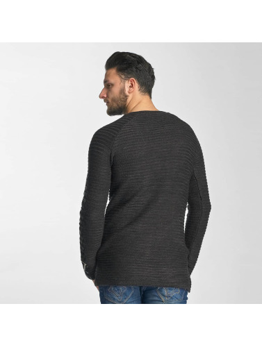 Red Bridge Herren Pullover Paris in schwarz