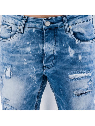 Red Bridge Herren Straight Fit Jeans Storm in blau