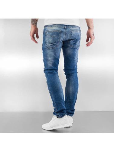 Red Bridge Herren Straight Fit Jeans Mega in blau