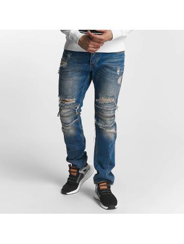 Red Bridge Herren Straight Fit Jeans Straight Fi in blau