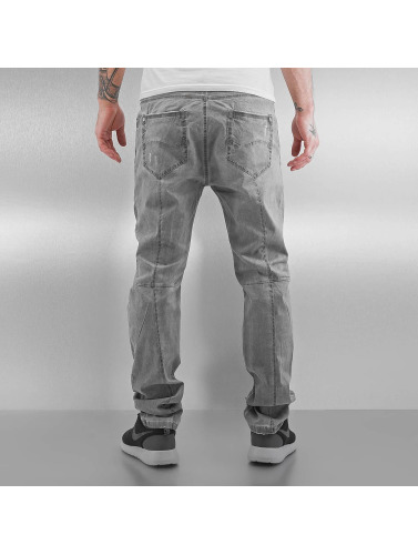 Red Bridge Herren Straight Fit Jeans Used in grau