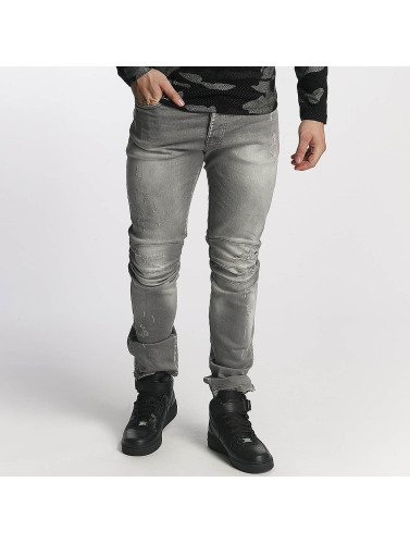 Red Bridge Herren Straight Fit Jeans Straight Fit in grau Verkauf 100% Original w2id8T7