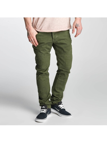Red Bridge Herren Straight Fit Jeans Sochumi in grün