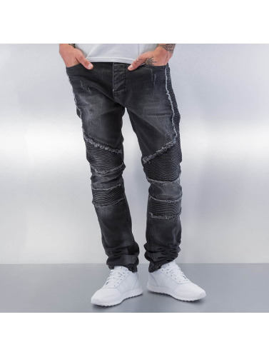 Red Bridge Herren Straight Fit Jeans Crazy in schwarz