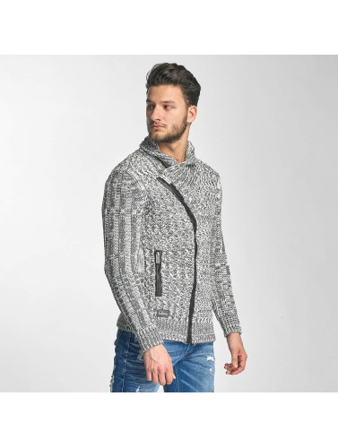 Red Bridge Herren Strickjacke Thimphu in grau