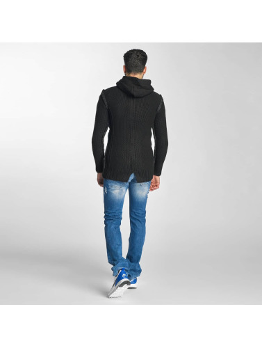 Red Bridge Herren Strickjacke Bischkek in schwarz