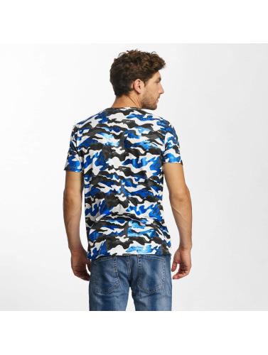 T-shirt Herren Rouge Pont Camouflage Métallique En Camouflage