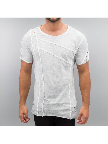Red Bridge Herren T-Shirt Patchwork in grau