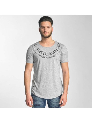 Red Bridge Herren T-Shirt Amsterdam in grau