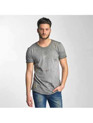 Red Bridge Herren T-Shirt Stitched Seam in grau