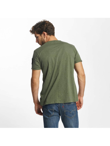 Red Bridge Herren T-Shirt Bullet Holes in khaki