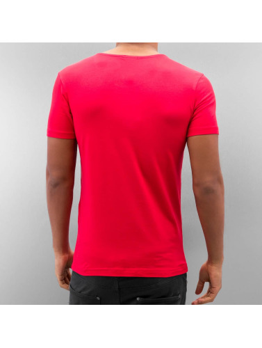 Red Bridge Herren T-Shirt Hundred Dollars in rot