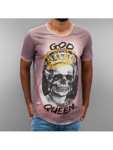 Red Bridge Herren T-Shirt God Save The Queen in rot