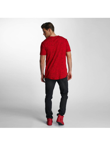 Red Bridge Herren T-Shirt Born To Be Famous in rot