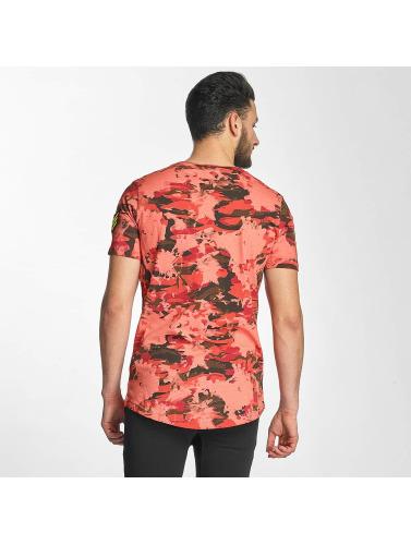 Red Bridge Herren T-Shirt Combat in rot