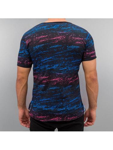 Red Bridge Herren T-Shirt Splatter Pocket in schwarz