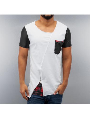 Red Bridge Herren T-Shirt Pocket in weiß