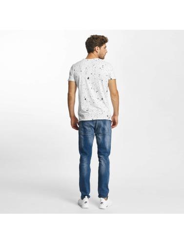 Red Bridge Herren T-Shirt Insanity Spots in weiß