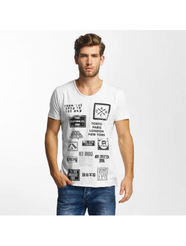 Red Bridge Herren T-Shirt From Good To Bad in weiß