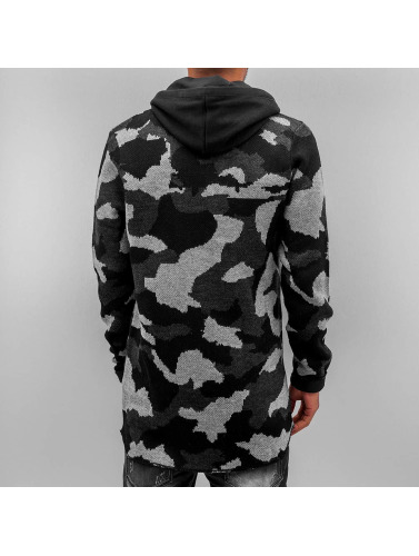 Red Bridge Herren Zip Hoodie Wien in camouflage