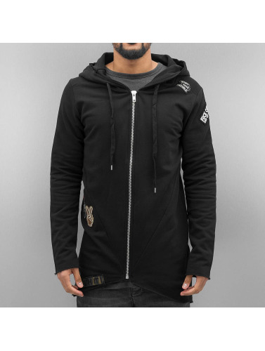 Red Bridge Herren Zip Hoodie Trouble in schwarz