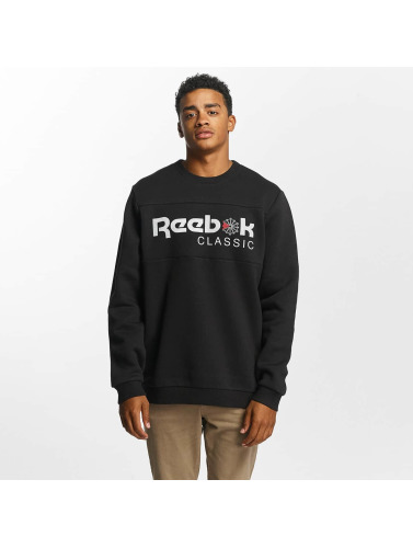 Reebok Hombres Jersey F Iconic in negro