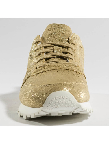 Reebok Damen Sneaker Classic Leather Shimmer in goldfarben
