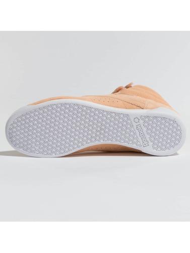 Reebok Damen Sneaker Freestyle Hi Nubuk in rosa