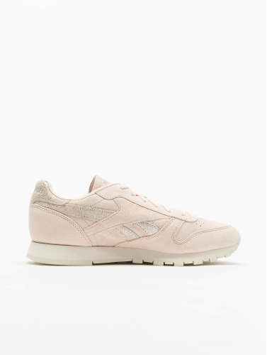 Reebok Damen Sneaker Classic Leather Shimmer in rosa