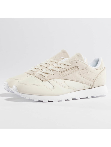 Reebok Mujeres Zapatillas de deporte Classic Leather Sea You Later in beis