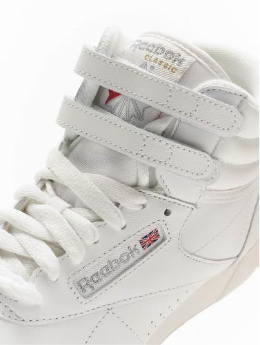 utløp 100% opprinnelige Reebok Freestyle Hi Joggesko Basketball Sko I Hvitt anbefale kul pålitelig for salg i Kina online lqCG68P