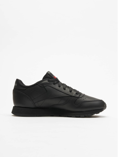 Reebok Mujeres Zapatillas de deporte CL Leather in negro
