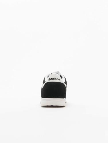 Reebok Mujeres Zapatillas de deporte Classic Nylon in negro