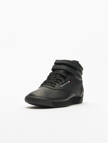 Reebok Mujeres Zapatillas de deporte Freestyle Hi Basketball Shoes in negro