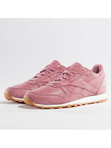 Reebok Mujeres Zapatillas de deporte Classic Leather Clean Exotics in rosa