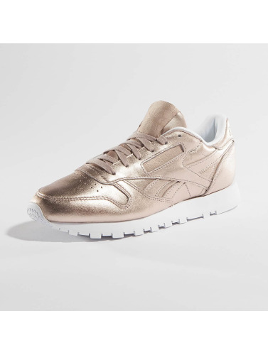 Reebok Mujeres Zapatillas de deporte Classic Leather Melted Metallic Pearl in rosa