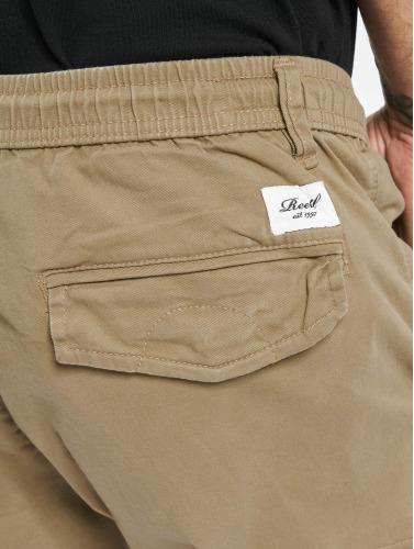Reell Jeans Herren Cargohose Reflex Rib in beige