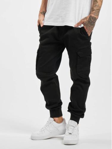 Reell Jeans Herren Cargohose Reflex Rib in schwarz