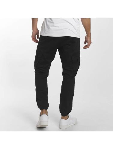 Reell Jeans Herren Cargohose Jogger in schwarz