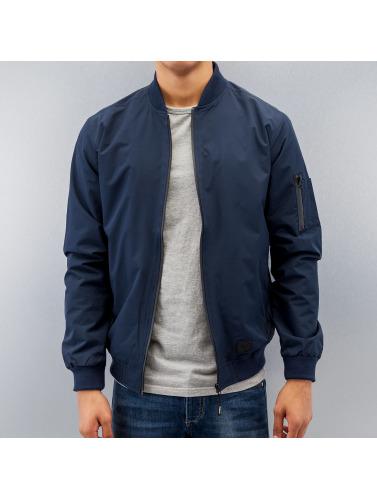 Reell Jeans Hombres Cazadora bomber Technical in azul