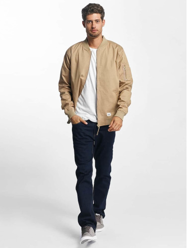 Reell Jeans Hombres Cazadora Bomber Fly I Beis klaring sneakernews o9DdESDJ