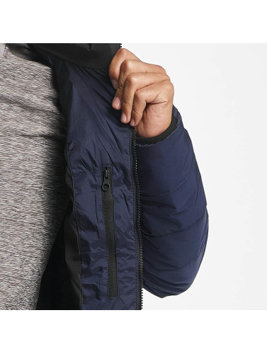 Reell Jeans Hombres Chaqueta de entretiempo Hooded Stitch in azul