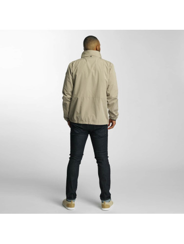 Reell Jeans Hombres Chaqueta de entretiempo Track in beis